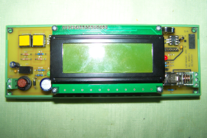 EPC-1 Circuit board and display